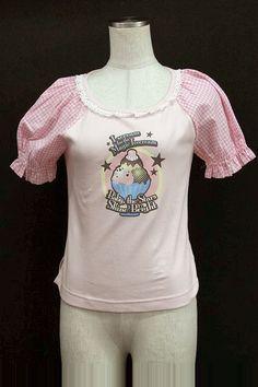 BABY, THE STARS SHINE BRIGHT / ice print gingham switching cut-and-sew (Baby the Stars Shine Bright) 2,200 yen