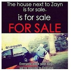 IM PACKIN RIGHT NOW. LETS ALL CASH IN OUR MONEY AND MOVE, DIRECTIONERS,!!!
