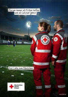 Rotes Kreuz Bereitschaftsdienst Kampagne - Super an der Spree