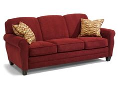 Shop for Flexsteel Sofa, 5614-31, and other Living Room Sofas at Woodley's Furniture in Colorado Springs, Fort Collins, Longmont, Lakewood, Centennial, Northglenn. Comes standard with luxury cushion. High density and high resiliency cushion option available. Contrast welt option also available.