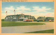 Meadow Club, Southampton, NY (Postcard)