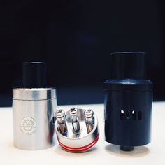 The Nobunaga RDA is a rebuildable atomizer from Tendou. A mini version of this atomizer is also available for sale. This three-post dripper will shock you with the build quality. It is special. The machining on this atomizer is precise, and all parts close together with perfect tension. The RDA has three huge posts holes to accommodate Clapton, Celtic and other complex builds. The JAW cap is a drip top that comes with the atomizer.  Tendou keeps everything transparent in manufacturing. The…