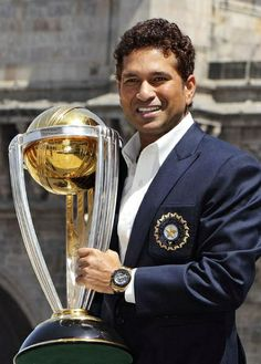 Fulfilled Dream..!! God with Worldcup 2011 #cricket #sports