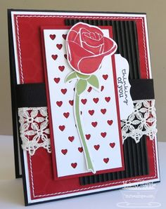 Blooming Roses; Pretty Poppies; Rose Bouquet Die-namics; Fluttering Hearts Die-namics; Mini Tabs Foursome Die-namics - Mini Chicken Wire Stencil - Melody Rupple