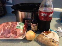 Pepper Roast Pork - I'm A Celiac - Schweinsbraten Crock Pot Cooking, Cooking Recipes, Crockpot Meals, Crock Pots, Game Recipes, Recipies, Vegan Recipes, Cooking Ribs, Crockpot Dishes