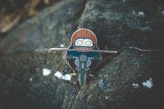 Motorcyclist Pin