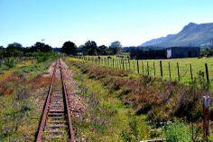 The Apple Train line near Greenbushes, Port Elizabeth, South Africa.