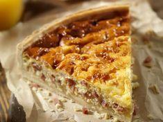Découvrez la recette Quiche lorraine sur cuisineactuelle.fr.