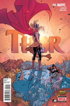 Preview: Thor #5, Cover - Comic Book Resources