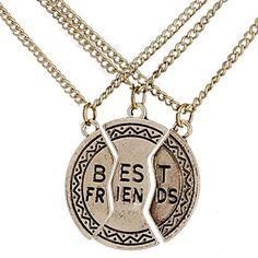 O.RIYA Best Friend Necklaces 3 Piece for Teens Girls Prime , Bff Necklaces for 3 Girls Golden O.RIYA http://www.amazon.com/dp/B01CK00TSA/ref=cm_sw_r_pi_dp_nmi7wb05RY0PR