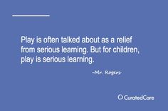 #CuratedQuotes #Play #Kids