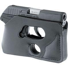 put in your back pocket and it looks like a wallet. lol.  Ruger® LCP .380/DeSantis Pocket Shot Combo at Cabela's