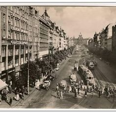 St. Wenceslas Square - the way it used to be!