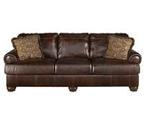 Sofas / Couches - Axiom - Walnut Sofa | Ashley Furniture