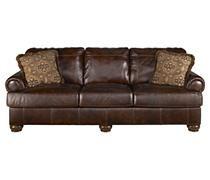 Sofas / Couches - Axiom - Walnut Sofa | Ashley Furniture