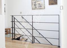 www.ed-ei.fr DT79 - Escaliers Décors : garde-corps d'étage en protection vide trémie.