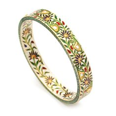 Fine Bracelets - Fine Indian Jewelry Bracelet by Amrita Singh Diamond Bracelets, Gold Bangles, Bangle Bracelets, Diamond Rings, Diamond Jewellery, Silver Jewellery, Bagan, Antique Jewelry, Vintage Jewelry