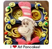This woman does CRAZY COOL things with PANCAKES!