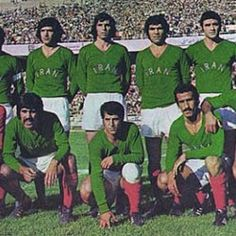 The national football team of Iran Iran National Football Team, Pahlavi Dynasty, The Golden Years, Volleyball, Basketball, Water Polo, Wrestling, Baseball Cards, Iranian