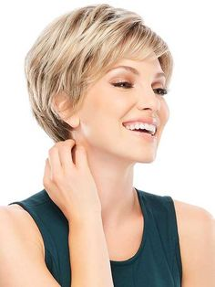 Wigs Women - Allure is a short pixie wig designed with synthetic hair and traditional cap construction. Allure is a favorite among hair loss wigs for women. - August 25 2019 at Short Hair Cuts For Women, Short Hairstyles For Women, Trendy Hairstyles, Cropped Hairstyles, Hairstyles Pictures, Blonde Hairstyles, Layered Hairstyles, Medium Hairstyles, Hairstyles Haircuts