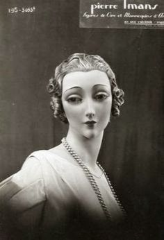 Frightening Beauty of the Pierre Imans' Wax Mannequins That Look Like Real Women ~ vintage everyday Store Mannequins, Vintage Mannequin, Mannequin Heads, Fashion Courses, Hat Stands, Vintage Beauty, Real Women, Art Dolls, Sculptures