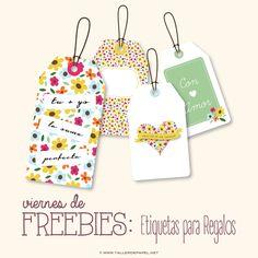 Viernes de Freebies : Descarga AQUÍ estas lindas Etiquetas para San Valentín. Descargalas GRATiS!!
