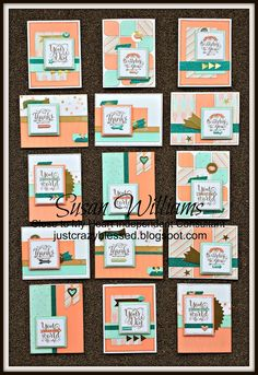 Just Crazy Blessed : 'Year > Noted'...a January 2015 EXCLUSIVE Workshop w/ cutting files! Studio Sus Susan Williams (15) Card Workshop e-files and Cutting guide! For Sale! Consultant and Hobby Crafter