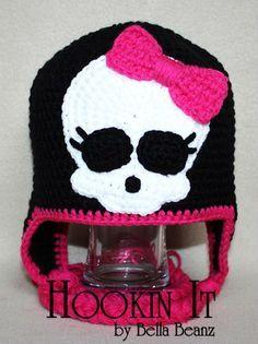 cappello crochet monster high - Cerca con Google