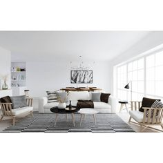Modern Scandinavian @rainie-minnie ❤ liked on Polyvore featuring home and home decor