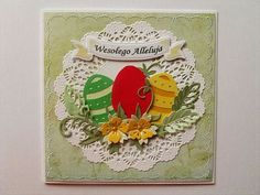 Paper Cards, Diy Cards, Christian Cards, Handmade Birthday Cards, Paper Quilling, Easter Crafts, Happy Easter, Making Ideas, Easter Eggs