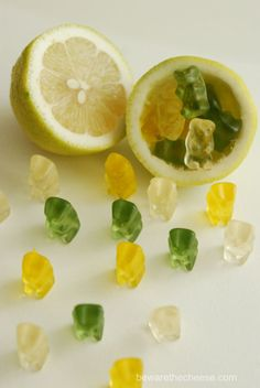 Lemon Lime Zombie gummie bears
