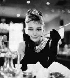 audrey hepburn in breakfast at tiffany's. every girl's icon?
