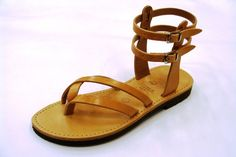 Spartans Leather sandal summer style. $42.00, via Etsy.