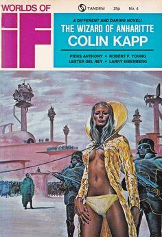 Worlds Of IF. Tandem No.4 Nov/Dec 1972 Cover Art. Brian Boyle