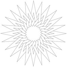 Does you kid love to color in patterns and creates different design forms with colors? Then, here we offer 20 amazing free printable pattern coloring pages. Geometric Coloring Pages, Star Coloring Pages, Pattern Coloring Pages, Mandala Coloring, Adult Coloring Pages, Coloring Books, Colouring, Geometric Drawing, Mandala Drawing