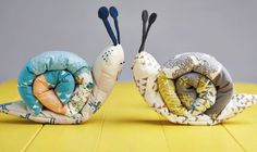 These garden critters by Louise Nichols are the perfect project to stitch in a day. Make for your little one or even as a fun décor piece for your home while developing your toy making skills. We used coordinating prints from the Tapestry collection for Art Gallery Fabrics, but you could mix your pair up with bolder designs.
