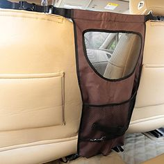 ForeYY Vehicle Pet Barrier with Mesh Openings, Storage Compartments and Durable Material - Backseat Dog Partition Travel Barrier for Car, SUV and Truck - Included Free Gift Pet Car Safety Belt *** See this great product.