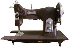 Vintage Domestic Sewing Machine on Chairish.com