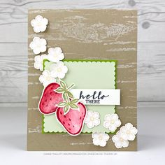 Paper Crafts, Diy Crafts, Flower Center, Stamping Up Cards, Paper Pumpkin, Mini, Creations, Card Making, Gift Wrapping