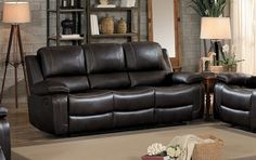 Purchase Leather Double Recliner Sofa with Drop Down Cup Holders, Brown from Benzara Inc on OpenSky. Share and compare all Home. Grey Leather Couch, Leather Recliner, Drop Down Table, High Quality Furniture, Reclining Sofa, Luxury Home Decor, Interior Exterior, Home Decor Accessories, A Table