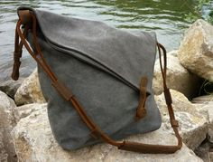 With its exclusive and functional design, this bag is the perfect companion for long summer days. The simple design with beautiful small details, as well as the combination of rugged canvas and...