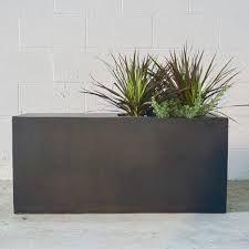 flowerpot - Google Search Contemporary Planters, Modern Planters, Large Planters, Indoor Planters, Stone Planters, Concrete Planters, Home Landscaping, Front Yard Landscaping, Modern Condo