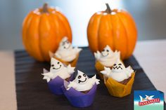 Cupcake fantasma di Halloween