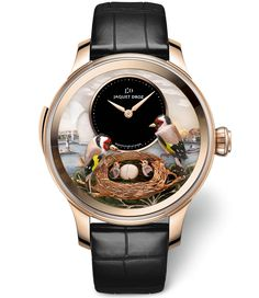 Jaquet Droz presents The Bird Repeater Geneva - WtheJournal - all about high-end watches