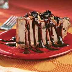 Parlor-Perfect Ice-Cream Cakes and Pies | Mocha-Pecan Mud Pie | SouthernLiving.com