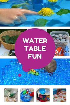 Water Table Activiti