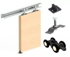 kit puerta corrediza mr plus 3mts aluminio anodizado