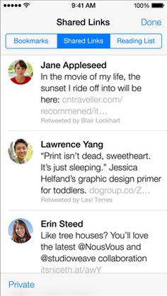 Deeper Twitter Integration within iOS7 Means More Business Opportunities