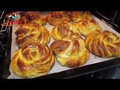 Gözde Yemek Tarifleri - YouTube Bread Bun, Muffin, Good Food, Baking, Breakfast, Fun Recipes, Youtube, Sourdough Recipes, Breads