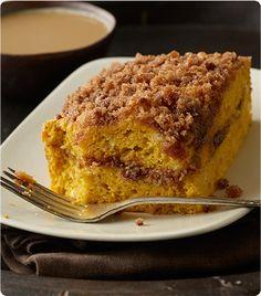 Krusteaz.com | Pumpkin Spice Crumb Cake- easy!
